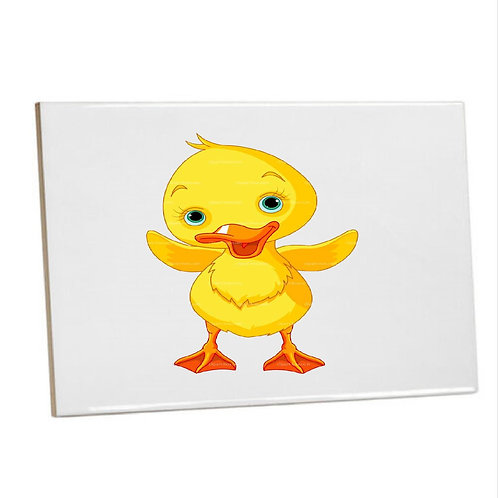 Bathroom Tile yellow ducky Ceramic Sublimation