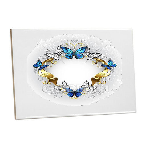 Kitchen/Bathroom Tiles Heat Print Butterflies