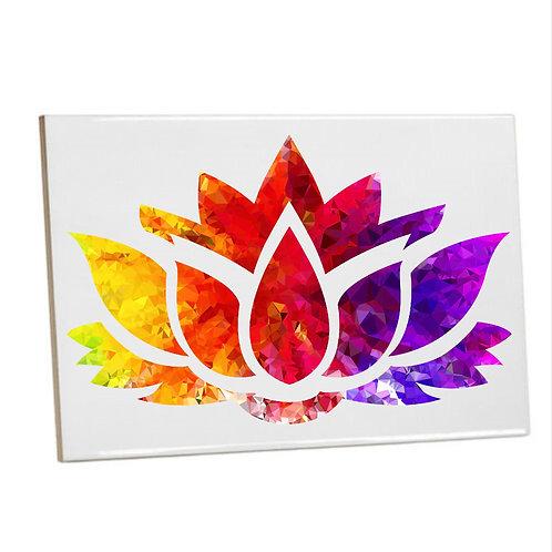 Bathroom Heat printed ColourfulLotus flower flower Tiles