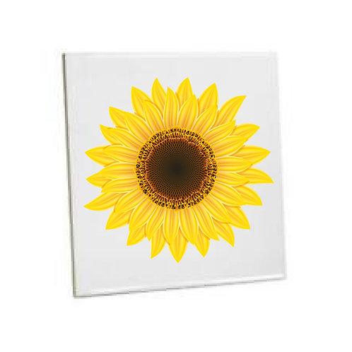 Bathroom Tiles Heat printed Sunflower