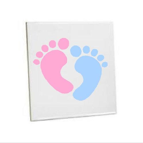 Bathroom Tile little feet Ceramic Sublimation