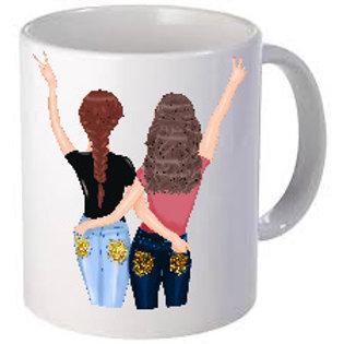 Best Friends forever Printed Mugs