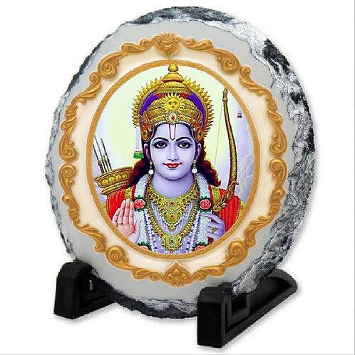 Rock printed Slate - Indian god
