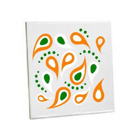 Bathroom Heat Printed Tiles Pattern