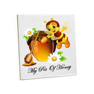 Kitchen/Bathroom Wall Tiles -Honey & Bee