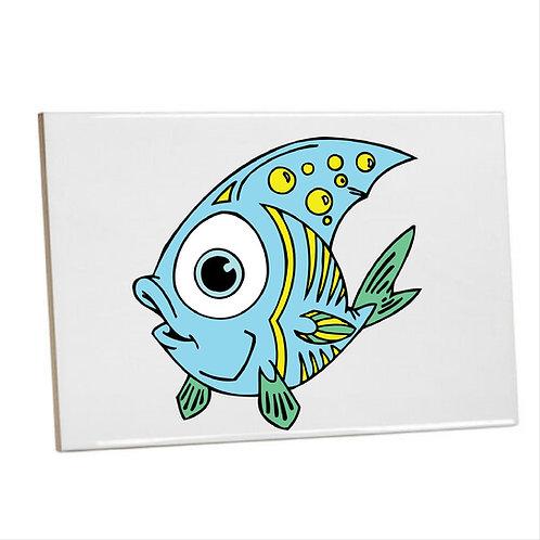 Bathroom Printed wall tiles under the sea Kidde fish coral reef (Under the sea)