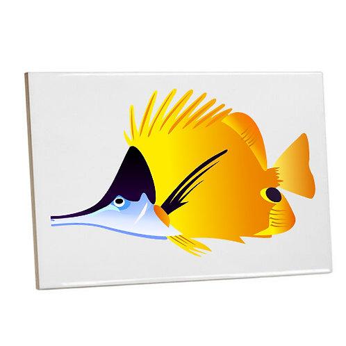 Bathroom wall Printed Tiles-fish coral reef