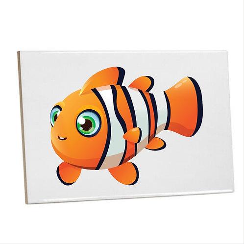 Bathroom Printed Wall Tiles - Finding Nemofish coral reef (Under the sea)
