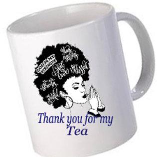 African beauty personalised Mugs :