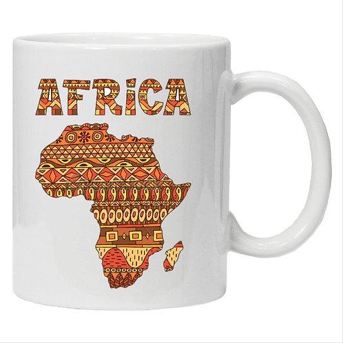 SUBLIMATION AFRICA AFRO MUGS FROSTED GLASS MUG