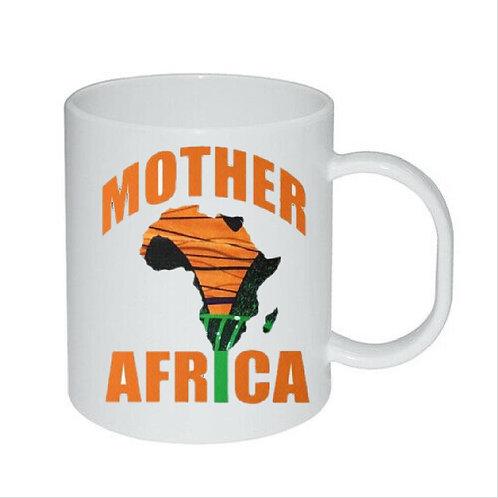 Heat Printed Mother of African map Mug