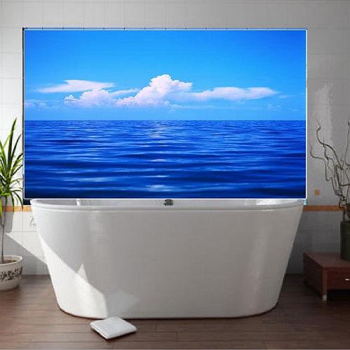 Bathroom Tile  Blue ocean Ceramic Sublimation Heat Print