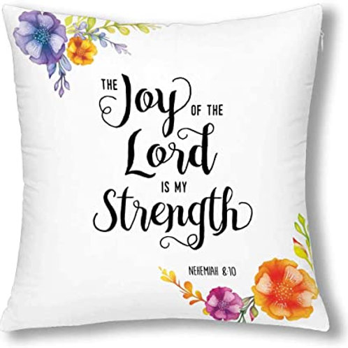 Heat Printed Canvas Cushion Cover-The joy of the world