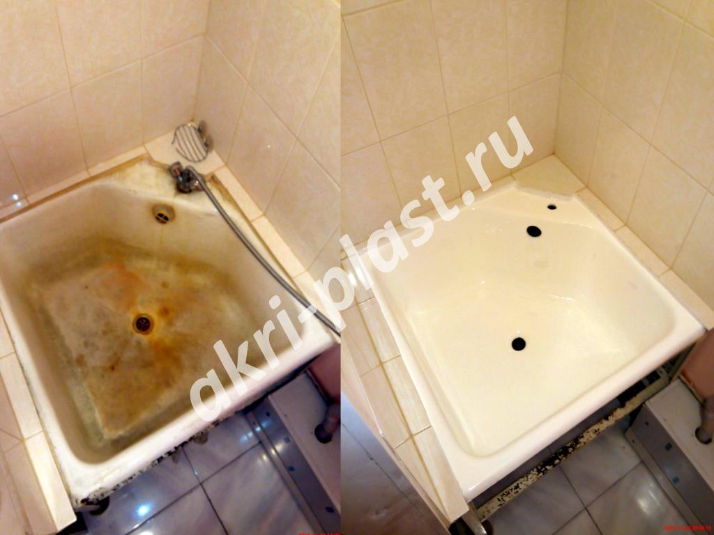 реставрация ванн акрилом в иркутске