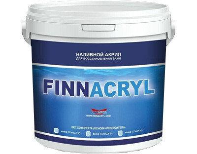Finnacryl (Финнакрил) Жидкий акрил для керамики БЕЛЫЙ