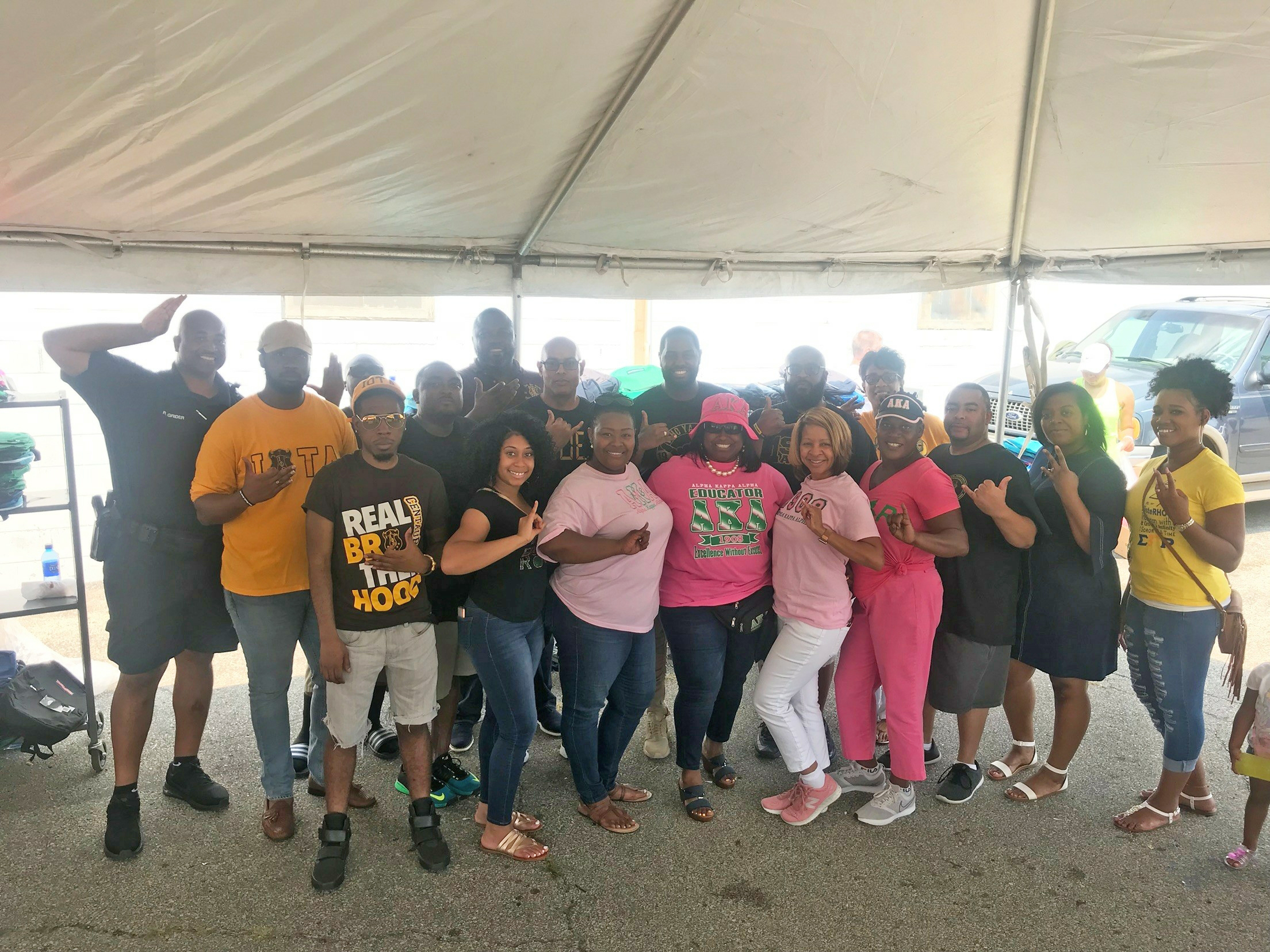 2018 NPHC Backpack Giveaway