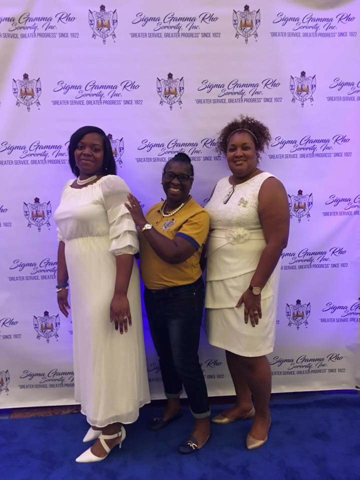 Sorors Yowell and Rhynes at Boule 2018, Dallas TX 6