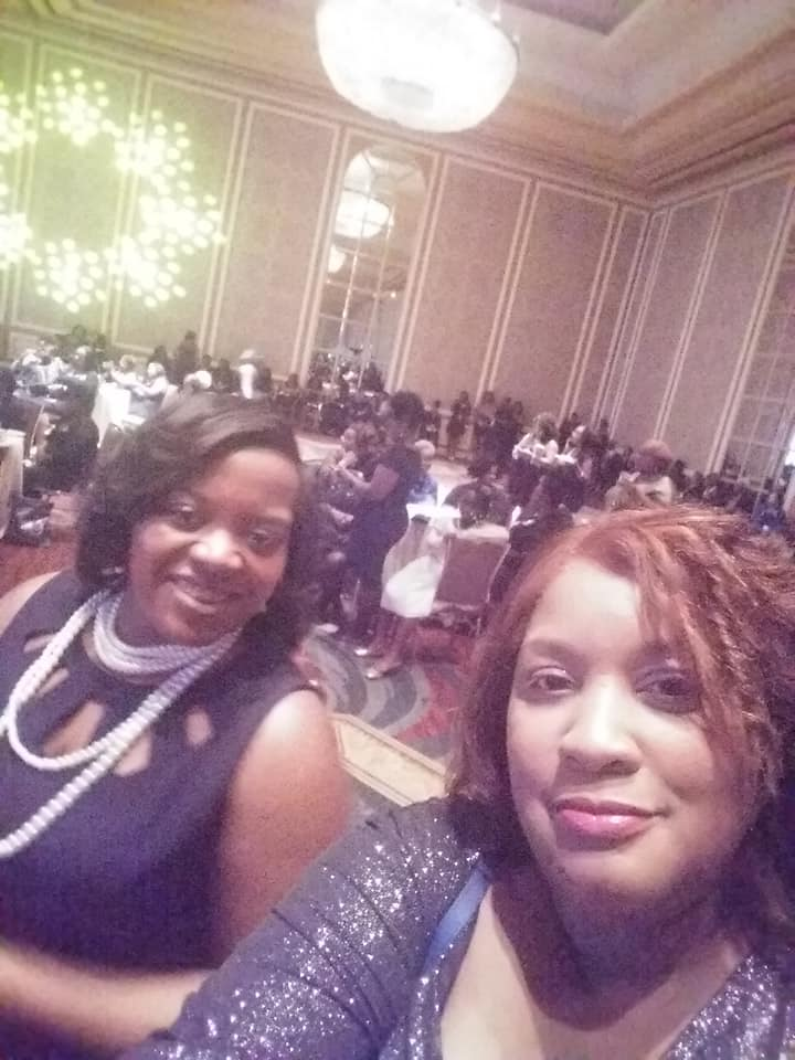 Sorors Yowell and Rhynes at Boule 2018, Dallas TX 4