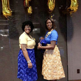 Soror Covington and Soror Freeman
