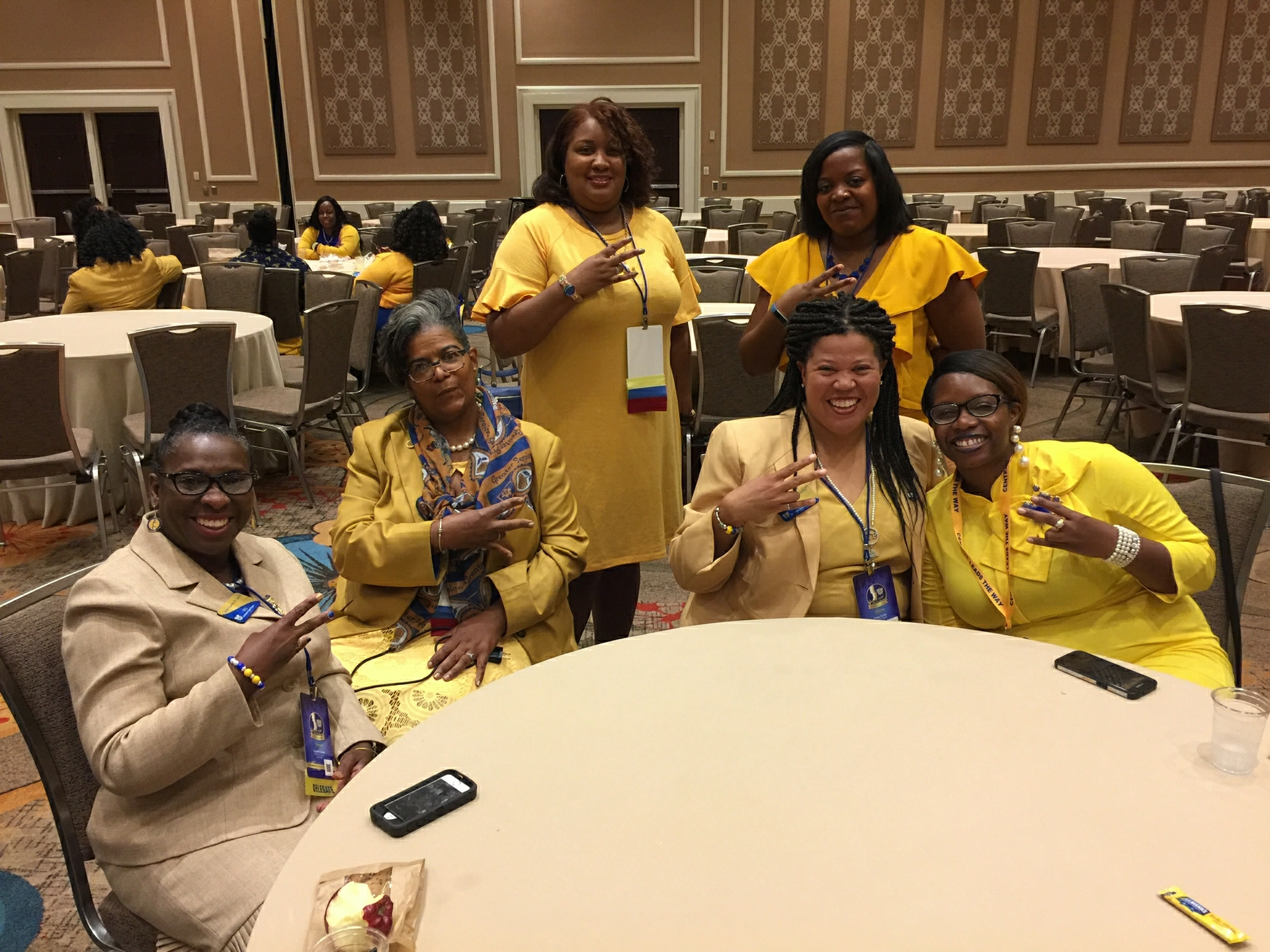 Sorors Yowell and Rhynes at Boule 2018, Dallas TX 5