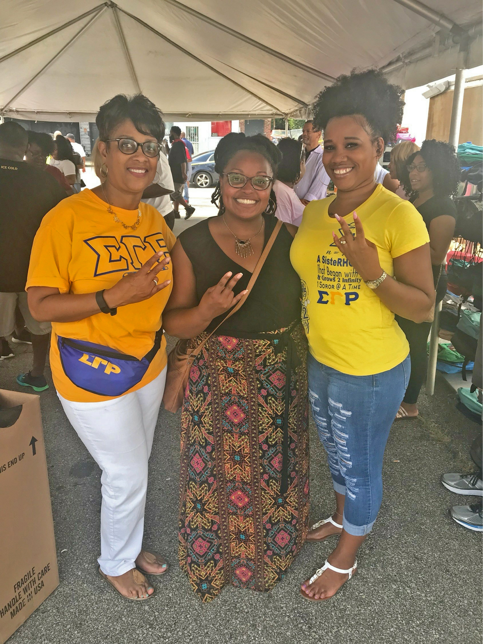 2018 NPHC Backpack Giveaway 2