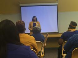 Syntaktes Harris teaching at Area 7 Meeting Oct 08, 2016