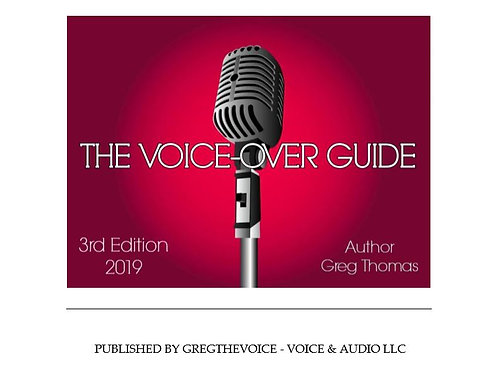 The Voice Over Guide - 3RD EDITION - 2019