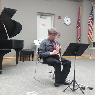 JCSO Recital at the Johnson City Public Library
