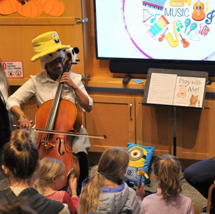 JCSO Musical Storytime at the Johnson City Public Library