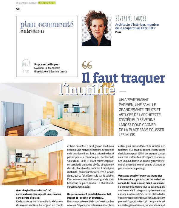 Article maison écologique page 1