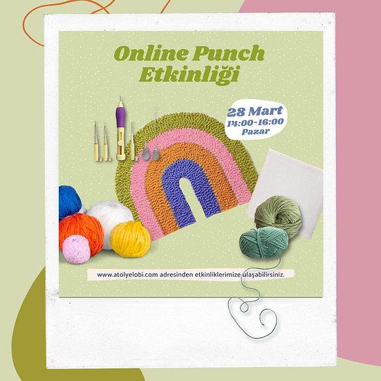 Online Punch Etkinliği 28 Mart 14:00-16:00