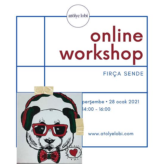 ONLINE FIRÇA SENDE Eko Kit 'Panda'28 OCAK PERŞEMBE 14:00-16:00