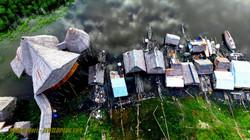 Flytande hus i Iquitos