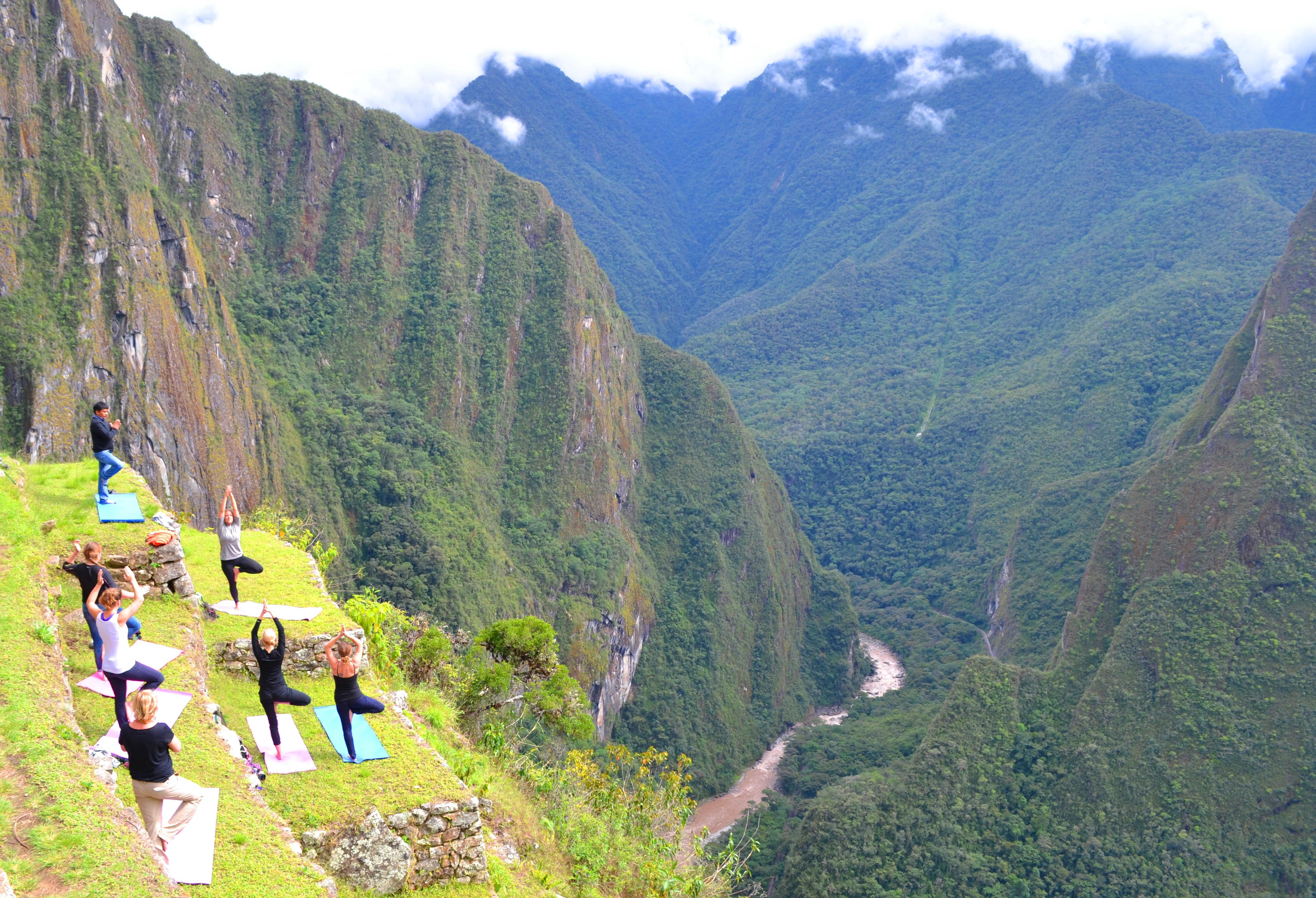 Yoga tour of Peru