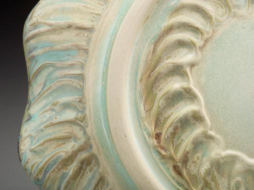 Detail of Platter by Sheila M. Lambert