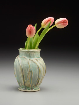 Sheila M. Lambert Vase with Tulips