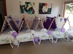 Kids Teepee Slumber Hire Perth