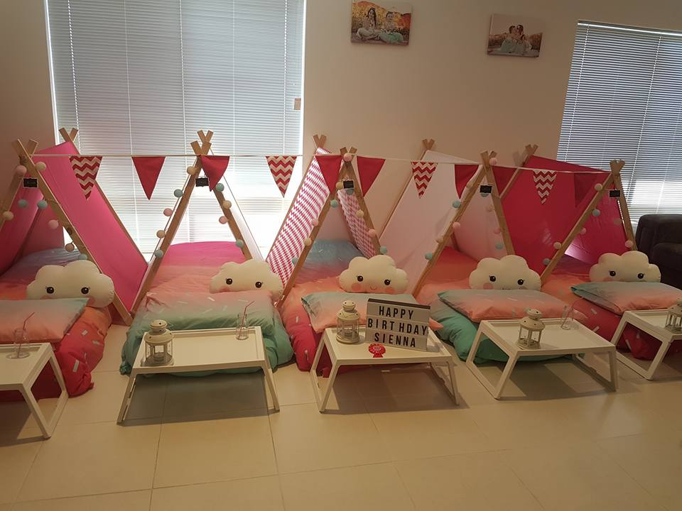 Slumber Party Hire Perth