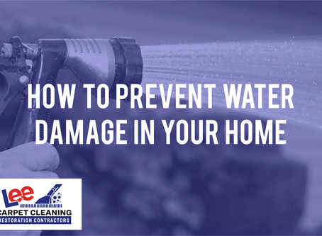 How to Prevent Water Damage in Your Home