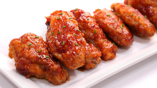 Chicken wings DAVA glasé sweet and spicy