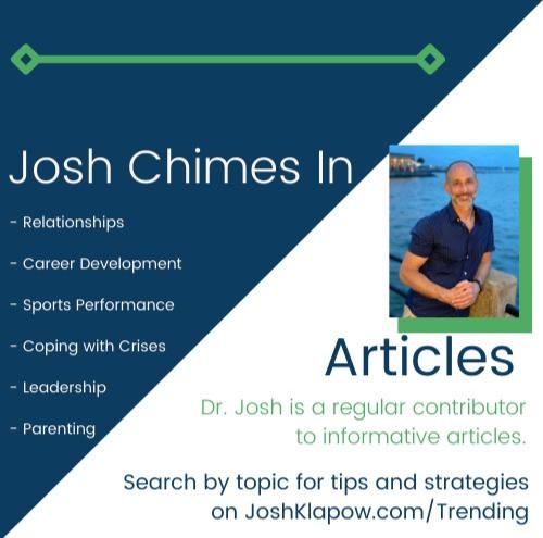 See Josh's quote on shape.com.