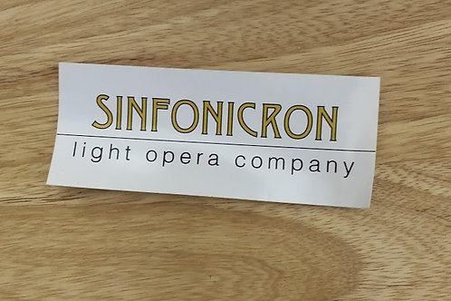 Sinfonicron Sticker