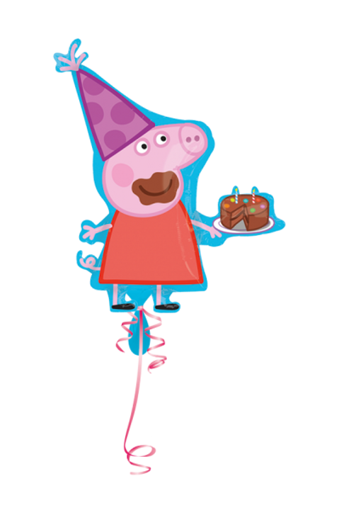 Folienballon Peppa Pig
