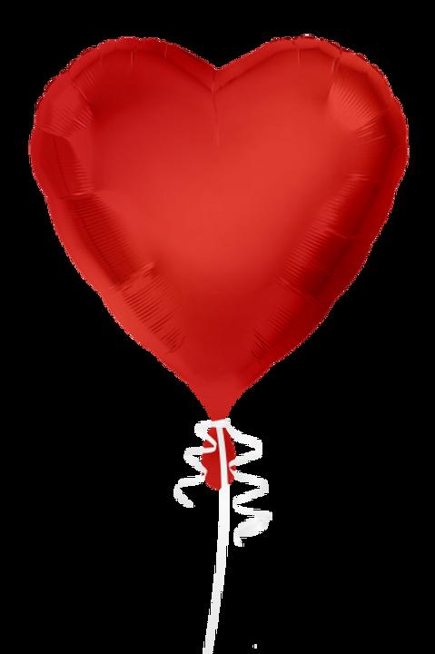 Folienballon Herz 45cm