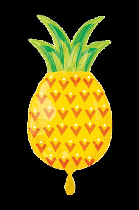Folienballon Ananas