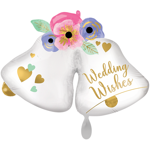 Folienballon Wedding Bells