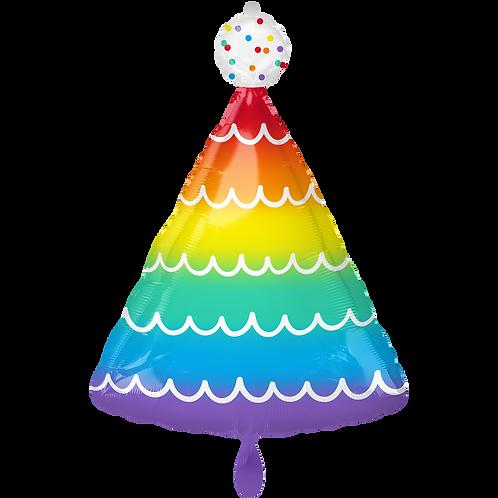Folienballon Partyhut