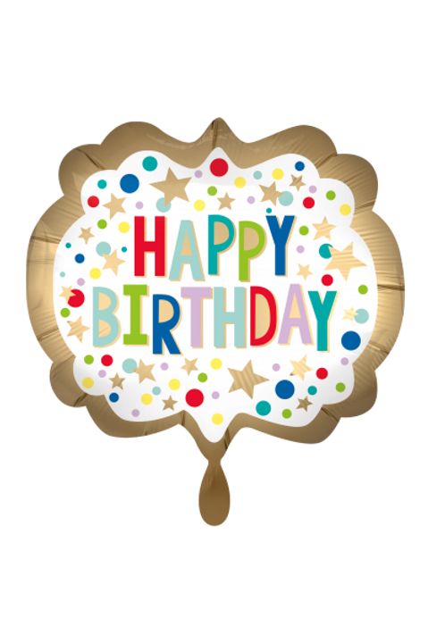 Folienballon Happy Birthday XXL