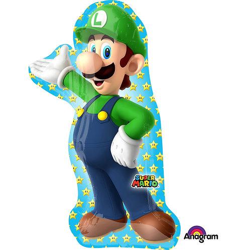 Folienballon Luigi