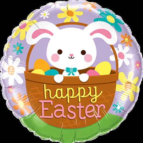 Folienballon Happy Easter